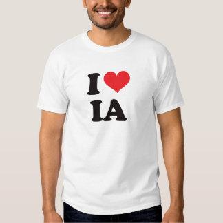 I Heart IA - Iowa T-shirts