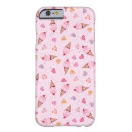I Heart Ice Cream iPhone Case