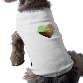 I (Heart) Ice Cream! Rainbo Sherbert T-Shirt