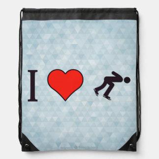 I Heart Ice Skating Backpacks