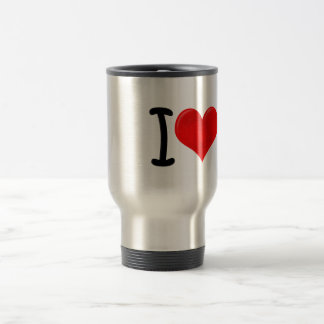 I Heart Icecream Travel Mug