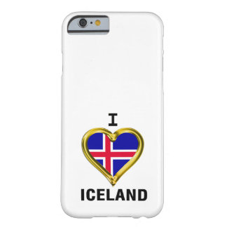 I HEART ICELAND BARELY THERE iPhone 6 CASE