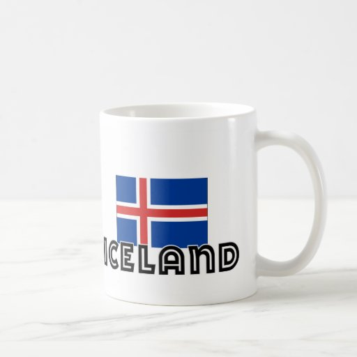 I HEART ICELAND CLASSIC WHITE COFFEE MUG