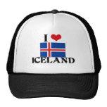 I HEART ICELAND HATS