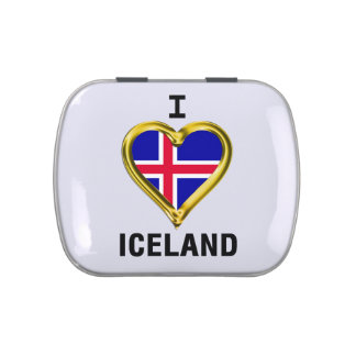 I HEART ICELAND JELLY BELLY TINS