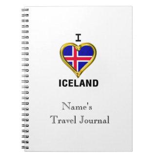I HEART ICELAND NOTEBOOK