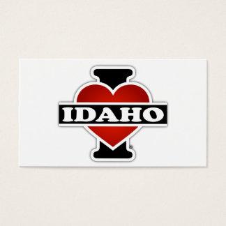 I Heart Idaho Business Card