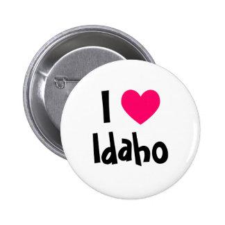 I Heart Idaho 2 Inch Round Button