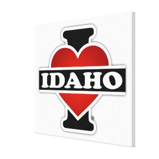 I Heart Idaho Canvas Print