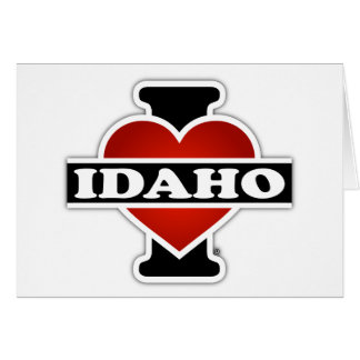 I Heart Idaho Card