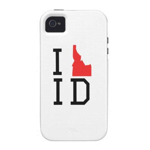 I Heart Idaho Vibe iPhone 4 Covers