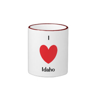 I Heart Idaho Mug