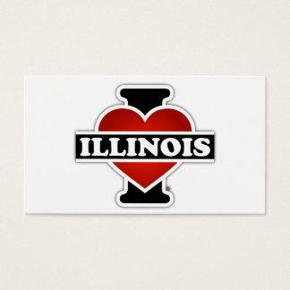I Heart Illinois Business Card