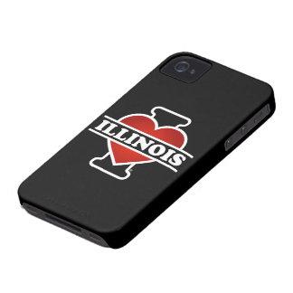 I Heart Illinois iPhone 4 Cover