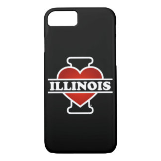 I Heart Illinois iPhone 7 Case