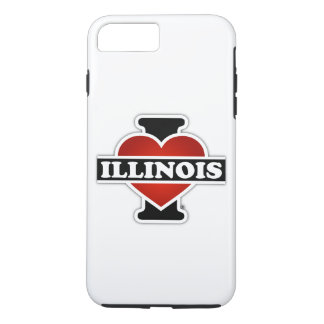 I Heart Illinois iPhone 7 Plus Case