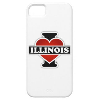 I Heart Illinois iPhone SE/5/5s Case