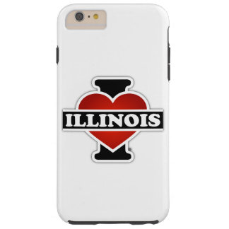 I Heart Illinois Tough iPhone 6 Plus Case