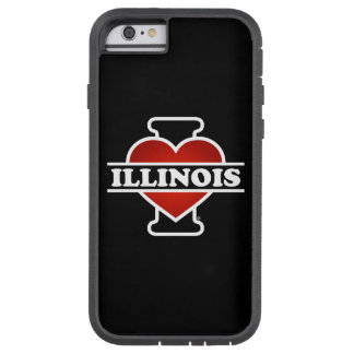 I Heart Illinois Tough Xtreme iPhone 6 Case