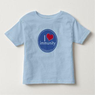 I Heart Immunity Kids Shirt, Blue Toddler T-shirt