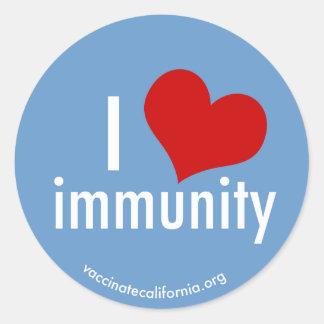 I Heart Immunity Sticker