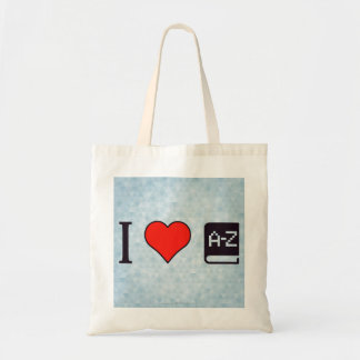 I Heart Improving My Language Tote Bag