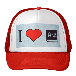 I Heart Improving My Language Trucker Hat