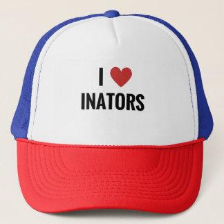 I Heart Inators Trucker Hat