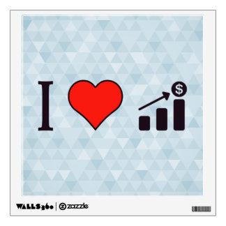 I Heart Increasing My Revenue Wall Sticker