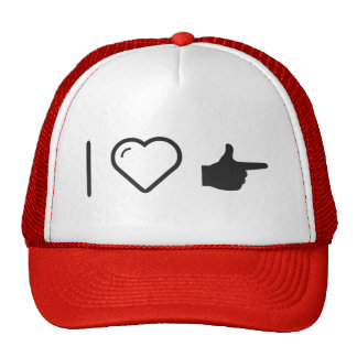 I Heart Index Fingers Trucker Hat