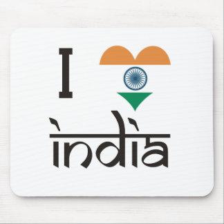 """I """"Heart"""" India - I Love India Mouse Pad"""