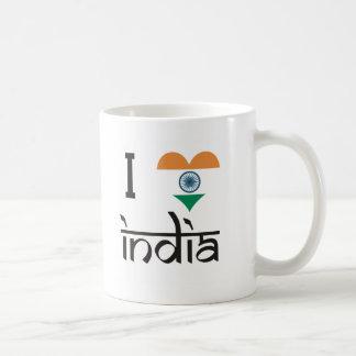 I Heart India - I Love India Mugs