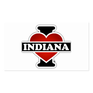 I Heart Indiana Business Card