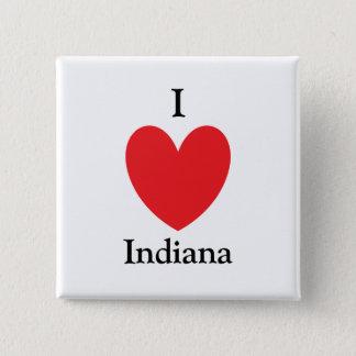 I Heart Indiana Button