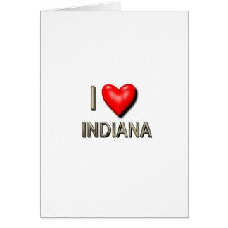 I Heart Indiana Card