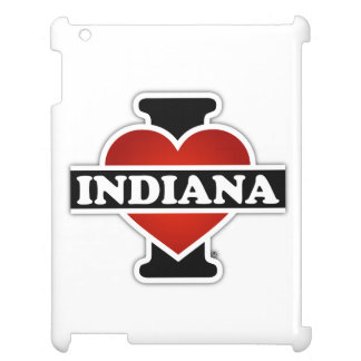 I Heart Indiana Case For The iPad