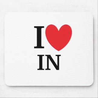 I Heart Indiana Mousepad