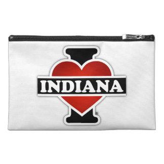 I Heart Indiana Travel Accessory Bag