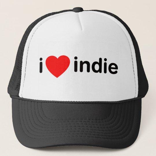 I Heart Indie Trucker Hat