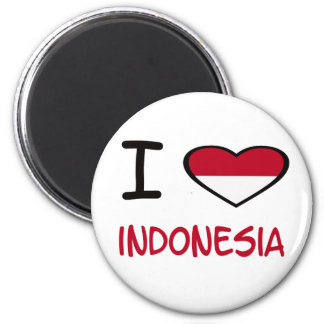 I heart Indonesia Magnet