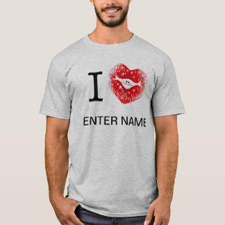 I_HEART_____ (insert name) T-Shirt