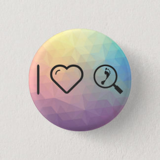 I Heart Investigations Pinback Button