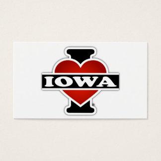 I Heart Iowa Business Card