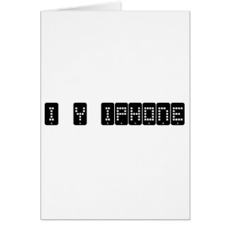 i heart iphone card