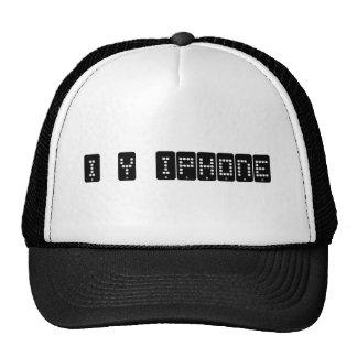 i heart iphone hat