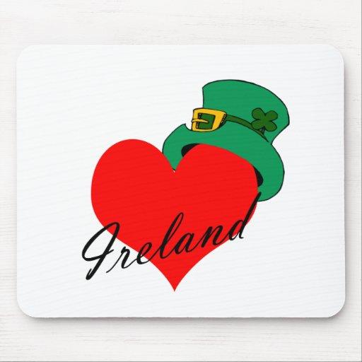 I Heart Ireland Mouse Pad