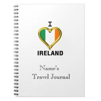 I HEART IRELAND NOTEBOOK