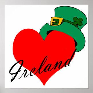 I Heart Ireland Poster