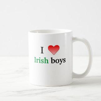 I heart Irish boys Coffee Mug