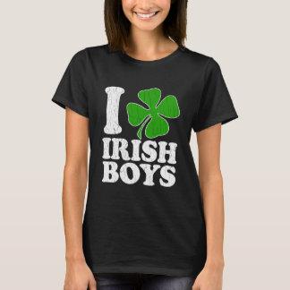 I Heart Irish Boys Shamrock T-Shirt